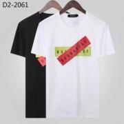 2色可選 上品なカジュアルコーデに半袖Tシャツ 2019魅力的な新作 ディースクエアード DSQUARED2 オシャレに見せられます