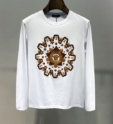 圧倒的人気を誇るモデルおすすめ 新作追加2019-20人気ランキング ヴェルサーチ VERSACE 長袖Tシャツ 2色可選