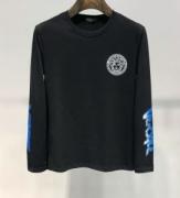 高品質優しいイメージに 2019AWにおすすめランキング新作ン ヴェルサーチ VERSACE 長袖Tシャツ 2色可選