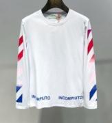 19/20AW 新作続々入荷中 Off-White オフホワイト 長袖Tシャツ 2色可選 秋冬のオシャレスタイルのマストお得