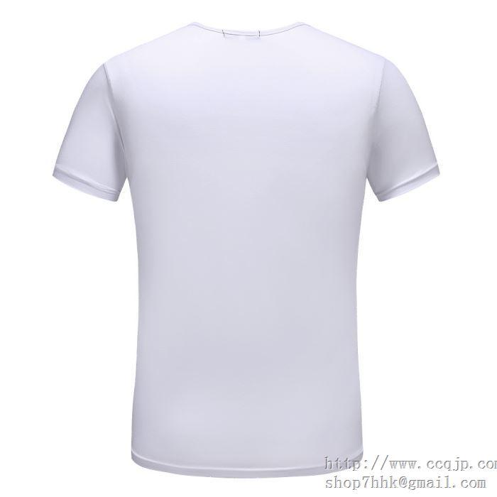春夏ヴィトン シュプリームコラボTシャツLOUIS VUITTON半袖人気SUPREMEホワイトブラックコットンメンズ用クルーネックプリント2018年T-Shirt