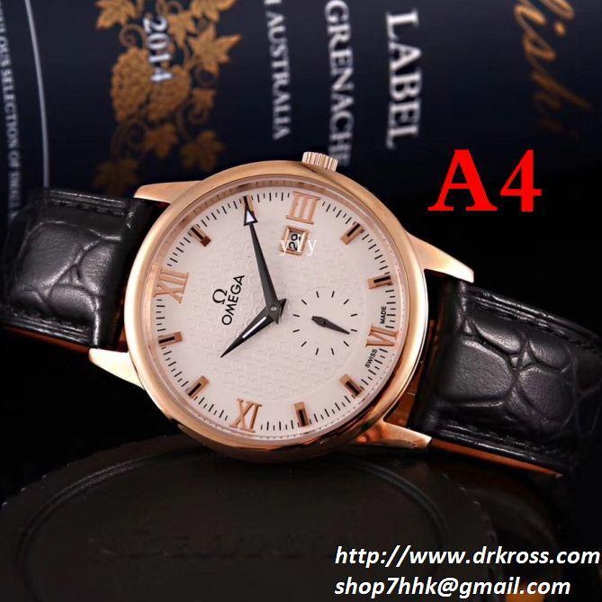 定番のストリートスタイル omega オメガ2018年秋冬新作 男性用腕時計 多色選択可