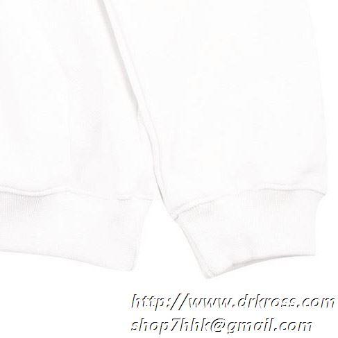 2019トレンドスタイル! 春夏着用をおすす 抜け感のある off-white オフホワイト フード付きコート
