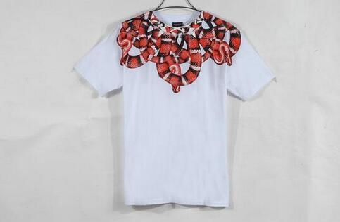 定番アイテムMarcelo Burlon  マルセロバーロン 半袖Tシャツ コピー メンズファッションホワイト
