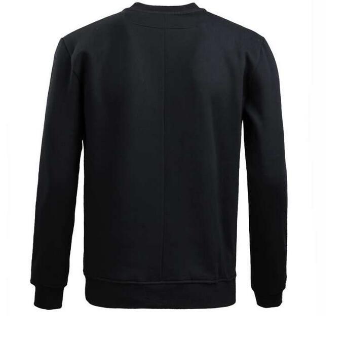 カジュアル スウェット メンズジバンシィ givenchyブラックスウェットクルーネック メンズファッション メンズ セーター