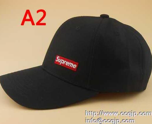 SUPREME シュプリーム キャップ 芸能人 17SS 大人気キャップ Box Logo ボックスロゴ ブラック ピンク5色可選