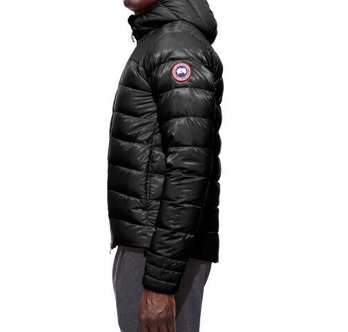 CANADA GOOSE ダウンジャケット 2017 カナダグース 大人気 BROOKVALE HOODY 5501M ブラック グレー ダウン メンズ 保温性に優れ