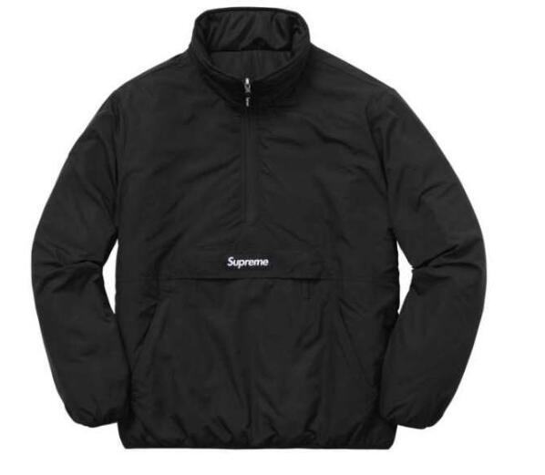 シュプリーム パーカー SUPREME 2017秋冬季超人気 両面可用 綿入れ 品質保証 ブラック レッド ライトブルー パーカー 男女兼用