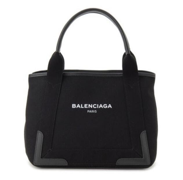 大人気 新作 バレンシアガ コピー バッグ トートバッグ 339933 9DH1N 1090 ブラック BALENCIAGA NOIR NAVY CABAS レディース