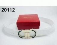 スポーティーで美しい FERRAGAMO、フェラガモ コピー ベルト ホワイト._品質保証