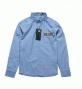 程よく色落ちしたNEIGHBORHOOD ネイバーフッド長袖シャツ シンプル_品質保証