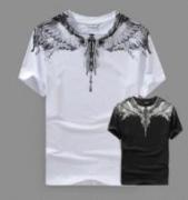 男女問わずユニセックスMARCELO BURLON マルセロバーロン ホワイトTシャツ  夏服半袖_品質保証