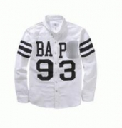 スポーツ風APE エイプ ホワイトシャツ プリントメンズファッション春物_品質保証