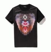 虎プリントTMarcelo Burlon  マルセロバーロン ブラック半袖Tシャツメンズ_品質保証