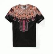 男らしさを放つMARCELO BURLON マルセロバーロン 半袖Tシャツ通販コピー Uネック_品質保証