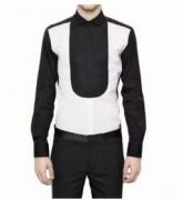 紳士感たっぷりNeil Barrett ニールバレット メンズ切り替えシャツ 大人の春服_品質保証