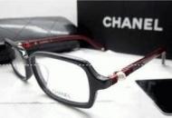 センスが良いCHANEL シャネル 透明サングラス メガネのフレーム ブラック ワインレッド_品質保証