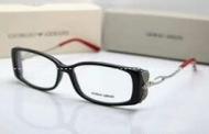 ツヤありはシンプルで高級感ARMANI アルマーニ  透明サングラス 洗練された メガネ_品質保証