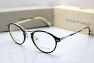 小顔効果のあるARMANI アルマーニ   透明サングラス しゃれかわいい 大人メガネ_品質保証
