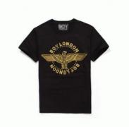 お洒落なロゴプリントで使いやすくBOY LONDON ボーイロンドン クルーネック半袖Tシャツ_品質保証