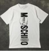ユニークでシンプルなロゴT MOSCHINO モスキーノ 半袖Tシャツ 激安コピー男女問わず  ホワイト_品質保証