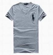 夏を快適に過ごすPolo Ralph Lauren ポロ ラルフローレン  コピーVネック半袖Tシャツ  メンズ_品質保証