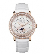 エレガントに煌く美フォルムの華やかブランパン BLANC PAIN ホワイト女性用腕時計_品質保証