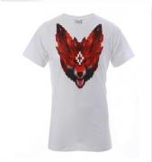 メンズファッション MARCELO BURLON マルセロバーロン コピー ブランドホワイト半袖TシャツPOLO_品質保証
