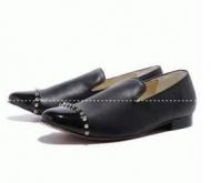 紳士靴 2017春夏CHRISTIAN LOUBOUTIN ルブタン 靴 コピー ブラックメンズシューズ ローファー_品質保証