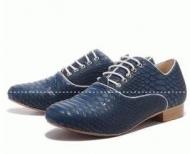ルブタンメンズ靴 CHRISTIAN LOUBOUTIN Dandelion Flat ビジネスシューズネイビーフラット_品質保証