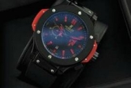 HUBLOT ウブロ コピーメンズウォッチ腕時計 ビッグバン GENEVE自動巻き 5針クロノグラフ 日付表示 46.07mm  ブラック_品質保証