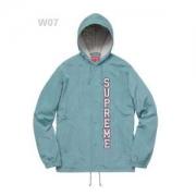 Supreme 17ss Vertical Logo Hooded Coaches Jacketウインドブレーカースタイリッシュ多色可選S9902款男女兼用_品質保証