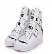 philipp plein  靴 フィリッププレインスニーカー メンズ フラットシューズ ハイカットカットメンズ カジュアル ホワイト_品質保証
