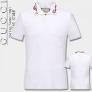 2色可選  グッチ GUCCI 2017 先行販売 半袖Tシャツ 綺麗に決まるフォルム!_品質保証
