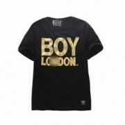 人気 夏メンズファッションボーイロンドン tシャツboylondon 通販 クルーネック半袖 メンズtシャツブラックホワイト_品質保証