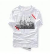 大特価 Off-White オフホワイト tシャツ 格安 メンズ半袖 Tシャツ 春夏新作ホワイト コットン プリントtシャツ 夏服 メンズ_品質保証