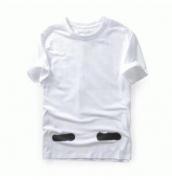 HOT低価OFF-WHITE オフホワイト スーパーコピーメンズ半袖 Tシャツ ブラック ホワイト  ロゴT ロゴプリント_品質保証