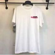 芸能人 愛用Off-White オフホワイト コピー 人気半袖 Tシャツ メンズ 半袖コットンTシャツ クルーネックホワイト ロゴプリント_品質保証