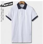モンクレール 偽物 通販 MONCLER 半袖ポロシャツ コットンメンズファッションホワイトブラックレッドカジュアル きれいめ_品質保証