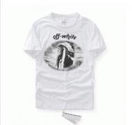 新入荷 新作OFF-WHITE オフホワイト tシャツ ダサい メンズ半袖 コットン クルーネックTシャツ ブラック ホワイト プリント_品質保証