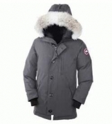 CANADA GOOSE カナダグース 2017 別注 ダウンジャケット ロングアウター メンズコート ブラック カーキ 多色_品質保証