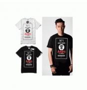 セール商品 ア ベイシング エイプ A BATHING APE  Tシャツ メンズ半袖コットン春夏ブラック ホワイトメンズファッション_品質保証