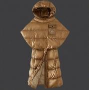 マントデザイン MONCLER モンクレール ダウンジャケット レディースファッション ブラック ブラウン 冬アウターHOT100%新品 ロングコート_品質保証