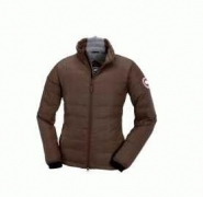カナダグース 2017 CANADA GOOSE ダウンジャケット ブラウン アウター 冬服メンズ コート ショート丈 あったか 暖か_品質保証