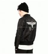 BOY LONDON ボーイロンドン 通販ブラックロゴ刺繍  コート 大人気 アウター ブルゾン メンズファッション通販_品質保証