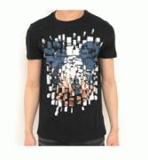 春夏品質保証定番Neil Barrett ニールバレット tシャツ ミッキーマウス プリント 個性 クルーネック アメカジ 吸汗速乾