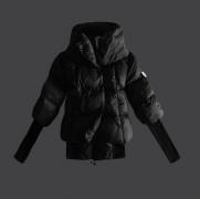 人気冬アウター モンクレール ダウン レディース MONCLER ブラック ダウンコート 圧倒的な新作 ダウンジャケット_品質保証