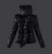 モンクレール レディース ダウン 人気 MONCLER ジャケット 超激得高品質 ダウンコート 保温性高いアウター 17秋冬 ブラック