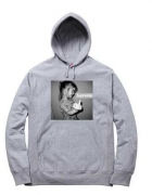 大人気 SUPREME Crybaby Hooded Sweatshirt シュプリーム パーカー 高品質 ブラック ホワイト  グレー ボックスロゴ  コットン 秋冬