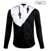 Neil Barrett ブランド スーパー コピー ニールバレット 通販 カジュアル 高品質 メンズ シャツ 長袖 シャツ 大人気 ブラック ホワイト コットン